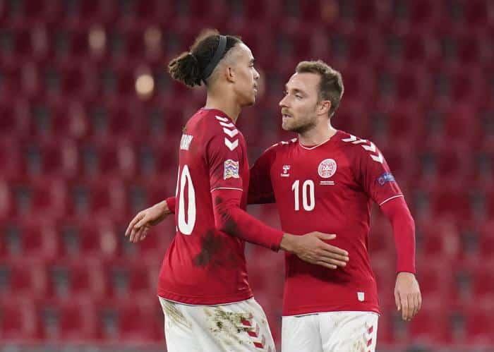 Football, Euro : Eriksen comme moteur du Danemark