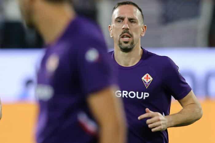 Salernitana : Blessure à la cheville pour Ribéry